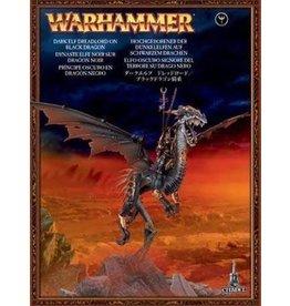 Games Workshop Dreadlord On Black Dragon