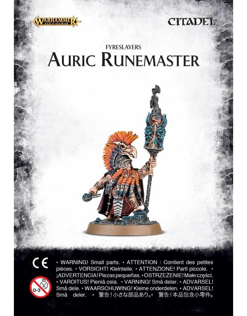 Games Workshop Fyreslayers Auric Runemaster
