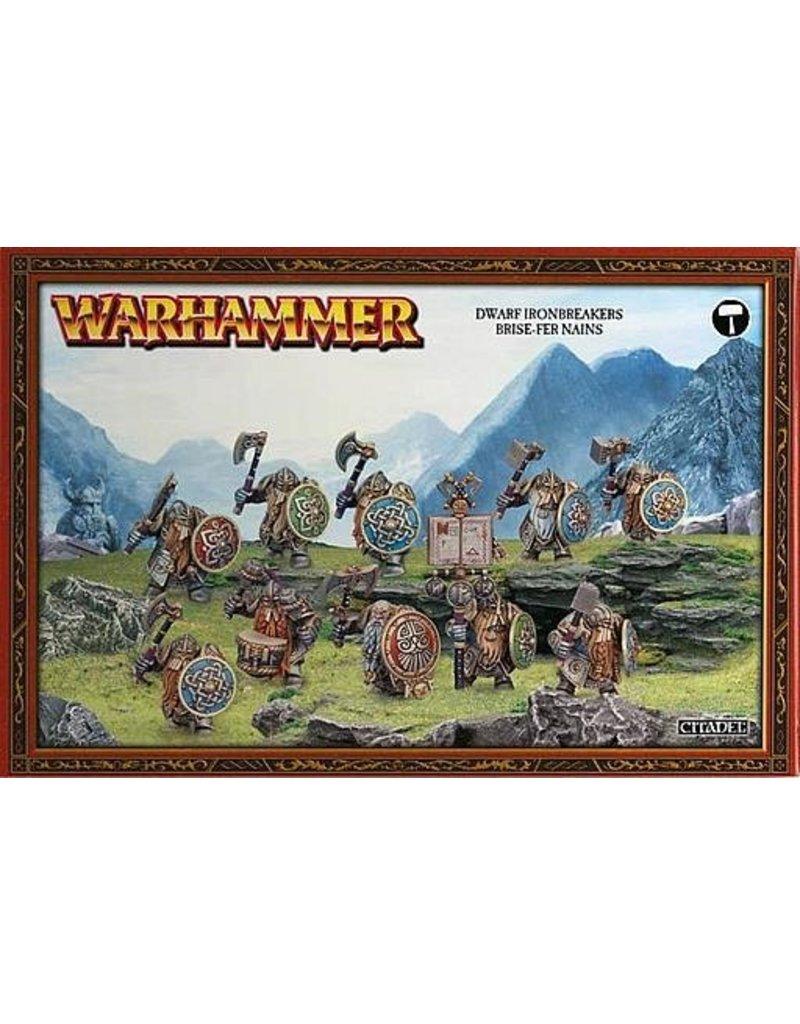 Games Workshop Duardins Ironbreakers