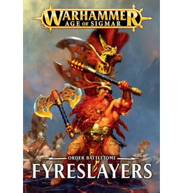 Games Workshop BATTLETOME:  FYRESLAYERS (HB) (EN)