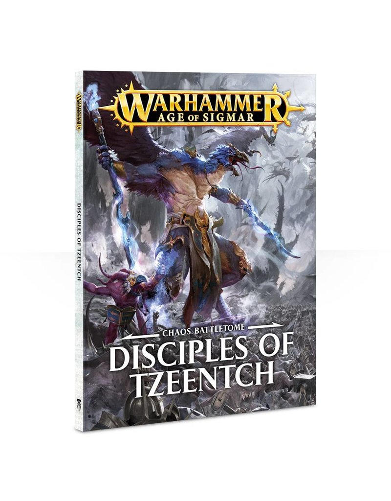 Games Workshop Battletome:  Disciples Of Tzeentch (SB) (EN)