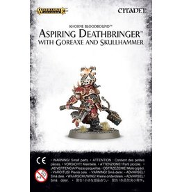 Games Workshop Aspiring Deathbringer With Goreaxe