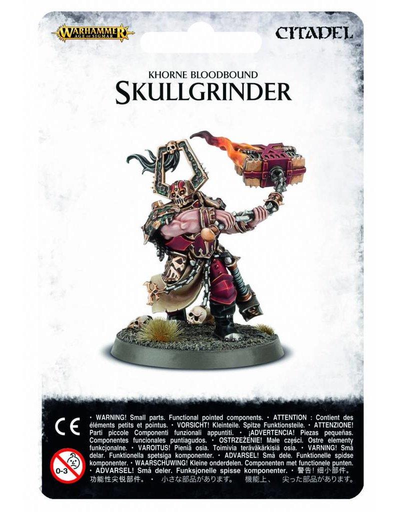 Games Workshop Khorne Bloodbound Skullgrinder