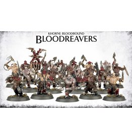 Games Workshop KHORNE BLOODBOUND BLOODREAVERS