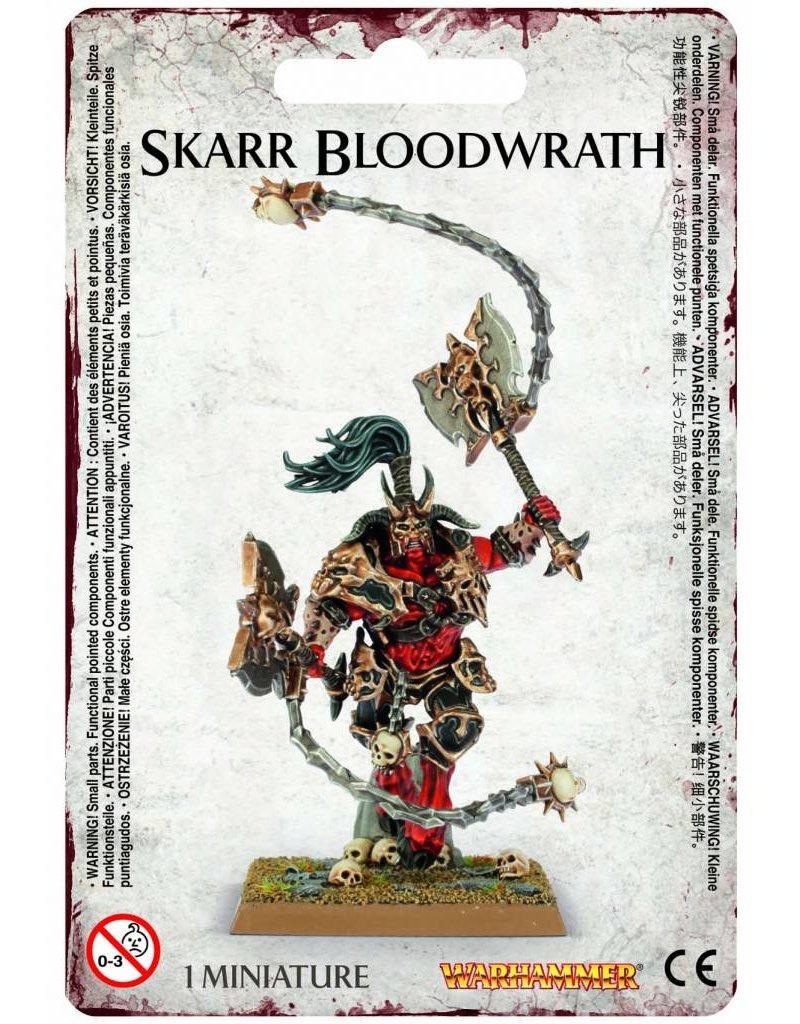 Games Workshop Khorne Bloodbound Skarr Bloodwrath