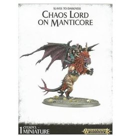 Games Workshop CHAOS LORD ON MANTICORE