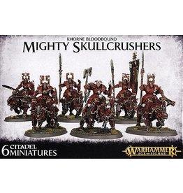 Games Workshop KHORNE BLOODBOUND MIGHTY SKULLCRUSHERS