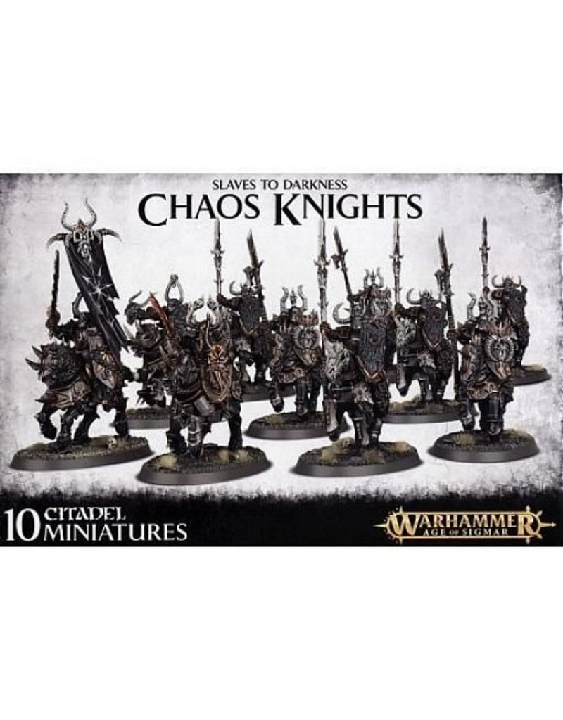 Games Workshop Slaves To Darkness Chaos Knights
