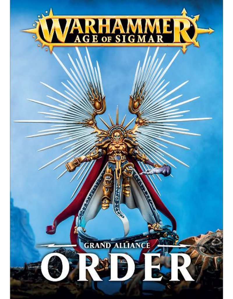 Games Workshop Grand Alliance: Order Army Book (SB) (EN)