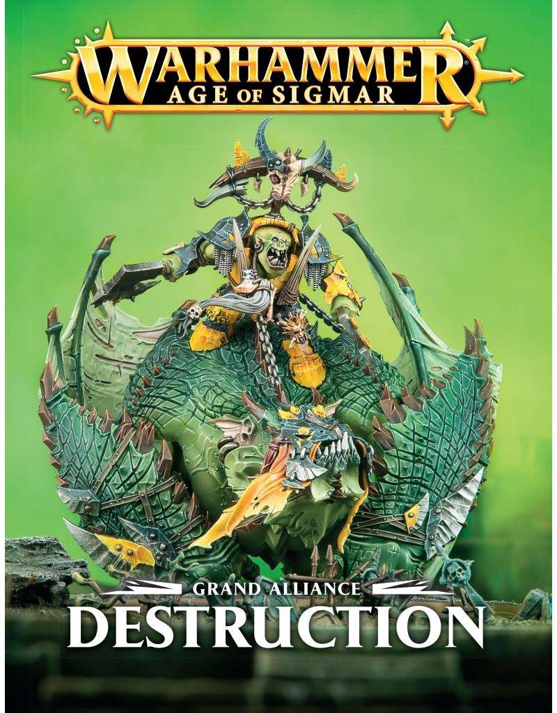 Games Workshop Grand Alliance: Destruction Army Book (EN)