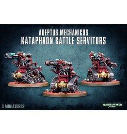 Games Workshop AD MECH KATAPHRON BATTLE SERVITORS