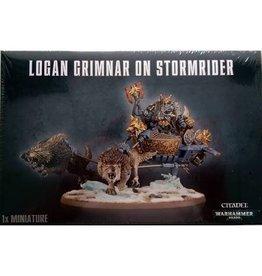 Games Workshop LOGAN GRIMNAR ON STORMRIDER