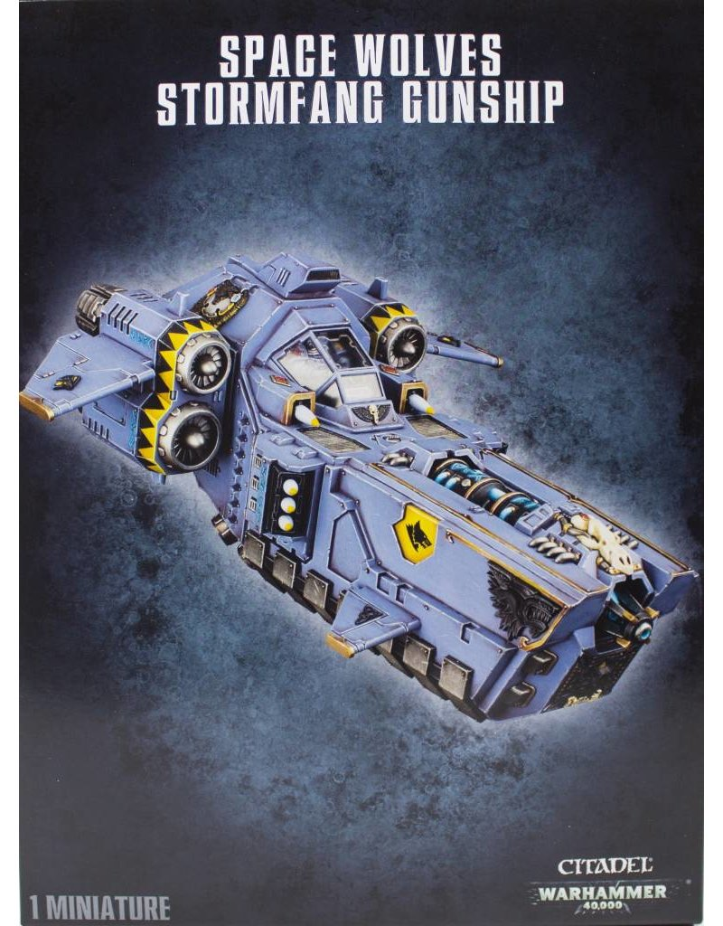 Games Workshop Space Wolves Stormfang Gunship