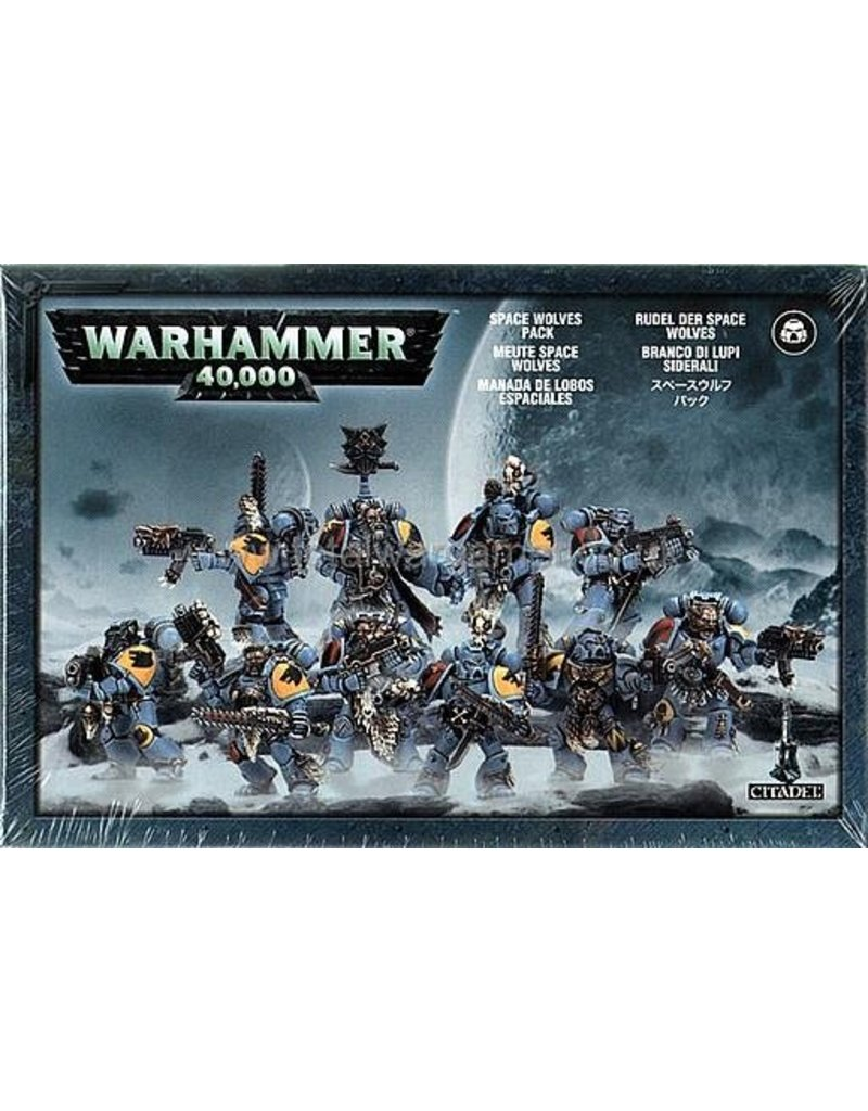 Games Workshop Adeptus Astartes Space Wolves Pack