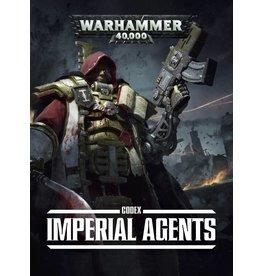 Games Workshop CODEX:  IMPERIAL AGENTS (SB) (EN)