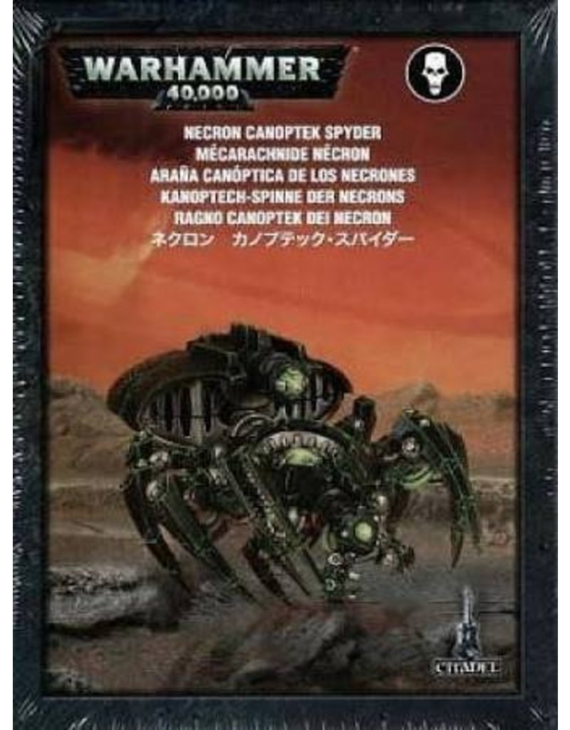 Games Workshop Necron Canoptek Spyder