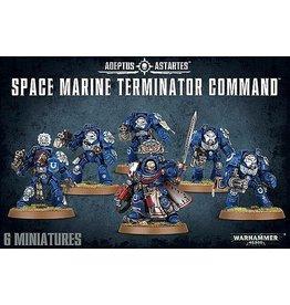 Games Workshop SPACE MARINE TERMINATOR COMMAND
