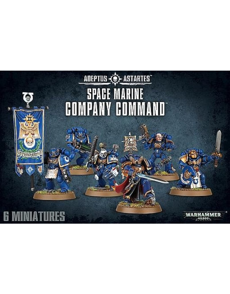 Games Workshop Adeptus Astartes Company Command