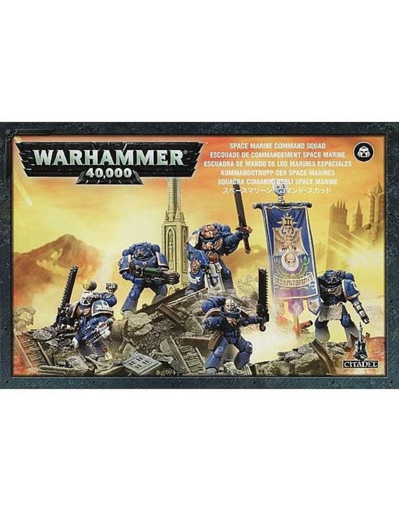 Games Workshop Adeptus Astartes Command Squad