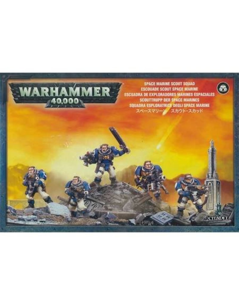 Games Workshop Adeptus Astartes Scouts