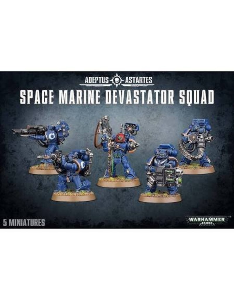 Games Workshop Adeptus Astartes Devastator Squad