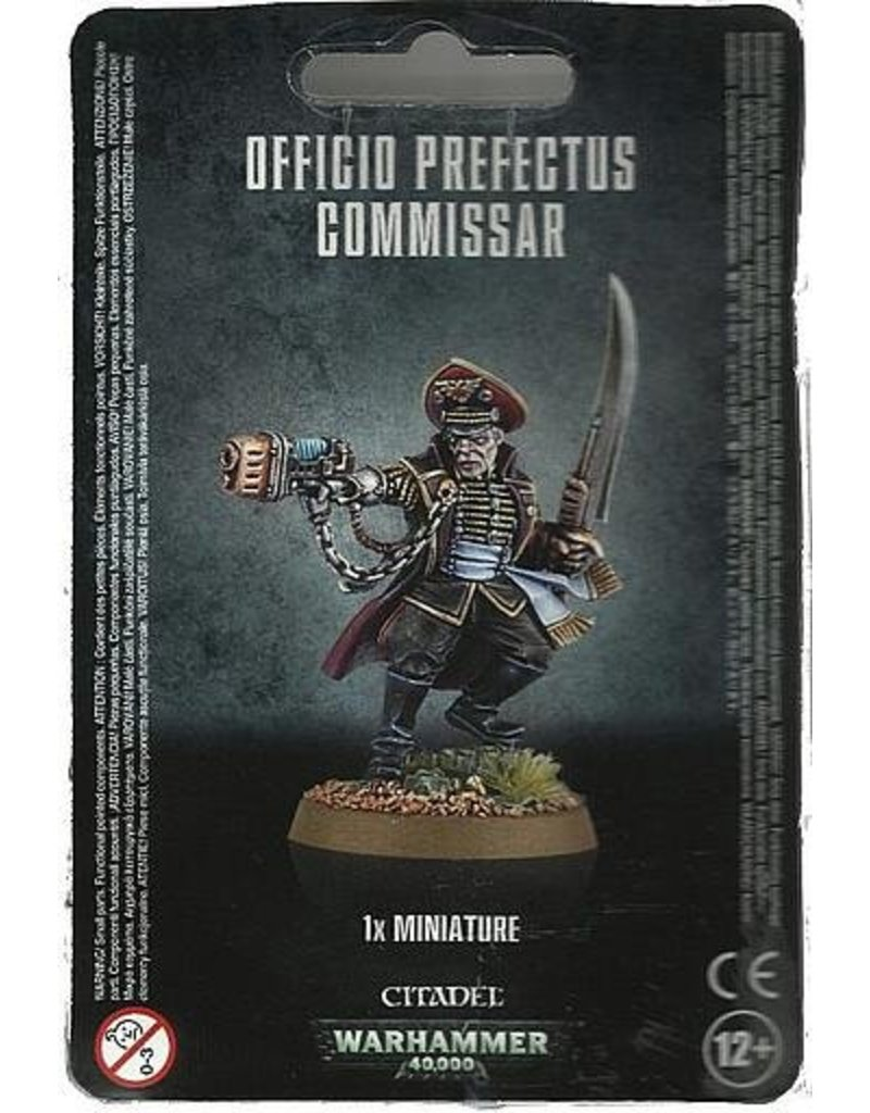 Games Workshop Astra Militarum Officio Prefectus Commissar