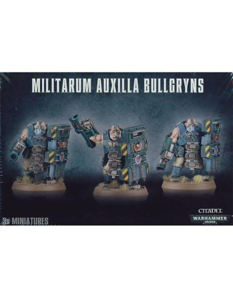 Games Workshop Astra Militarum Auxilla Bullgryns