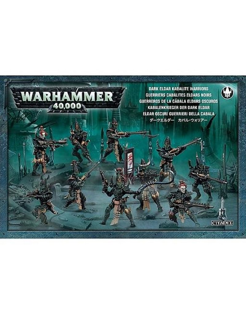 Games Workshop Drukhari Kabalite Warriors