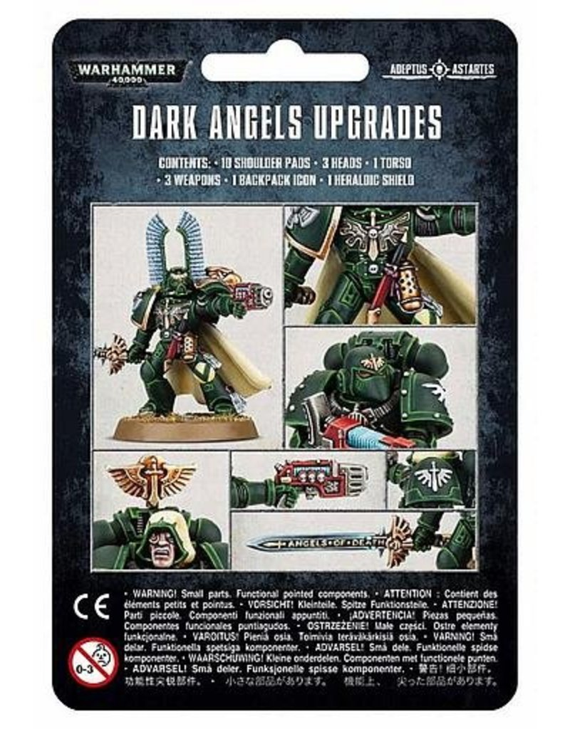 Games Workshop Space Marines Dark Angels Upgrades