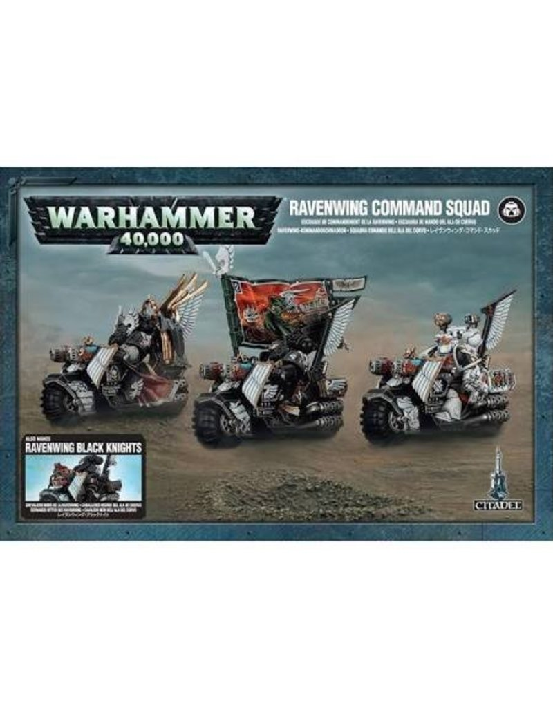 Games Workshop Space Marines Ravenwing Command Squad