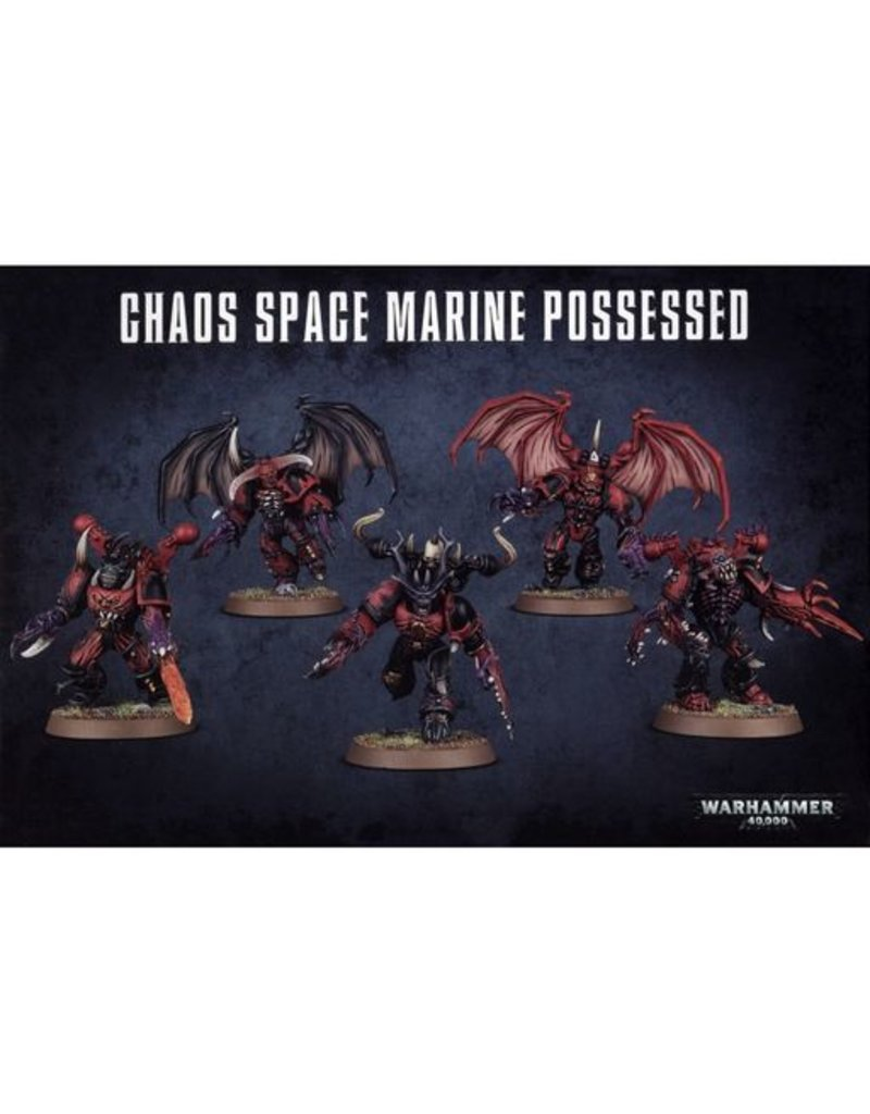 Games Workshop Heretic Astartes Chaos Space Marines Possessed