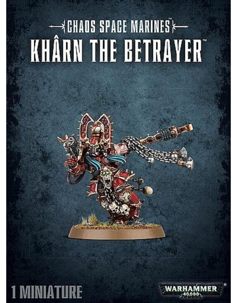 Games Workshop Heretic Astartes Kharn The Betrayer