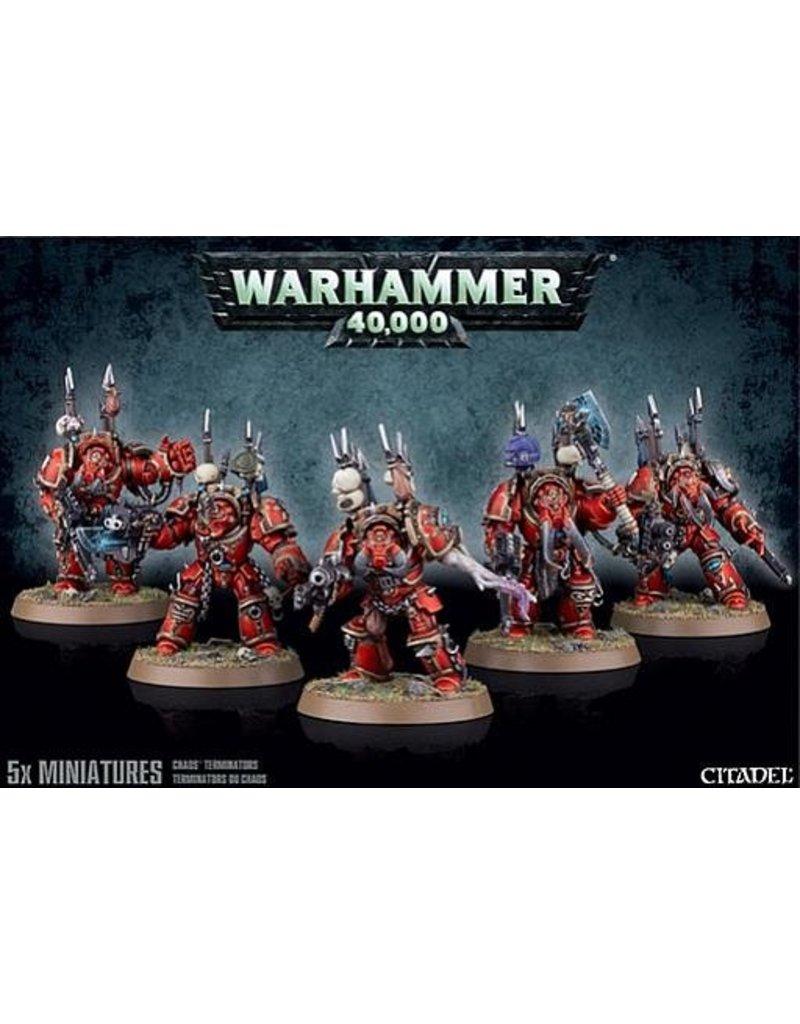 Games Workshop Heretic Astartes Chaos Terminators