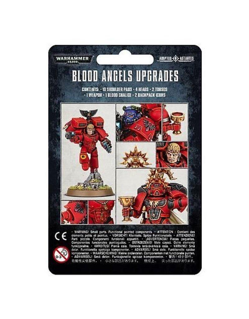 Games Workshop Space Marines Blood Angels Upgrades
