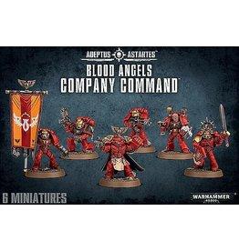 Games Workshop BLOOD ANGELS COMPANY COMMAND