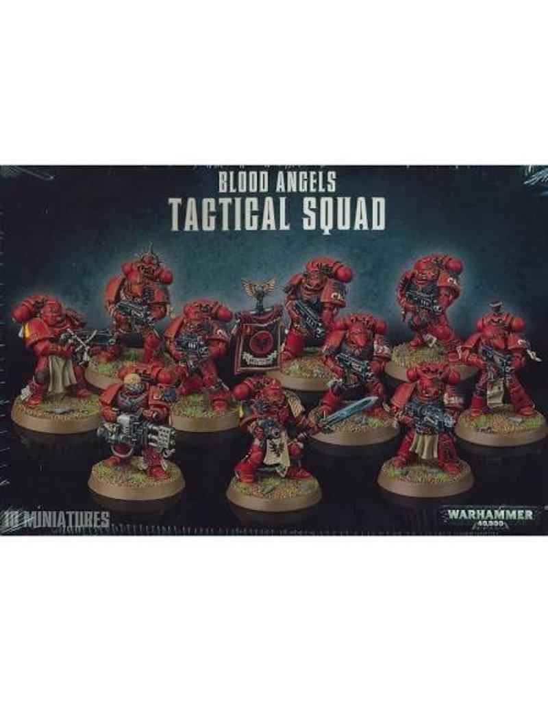 Games Workshop Space Marines Blood Angels Tactical Squad