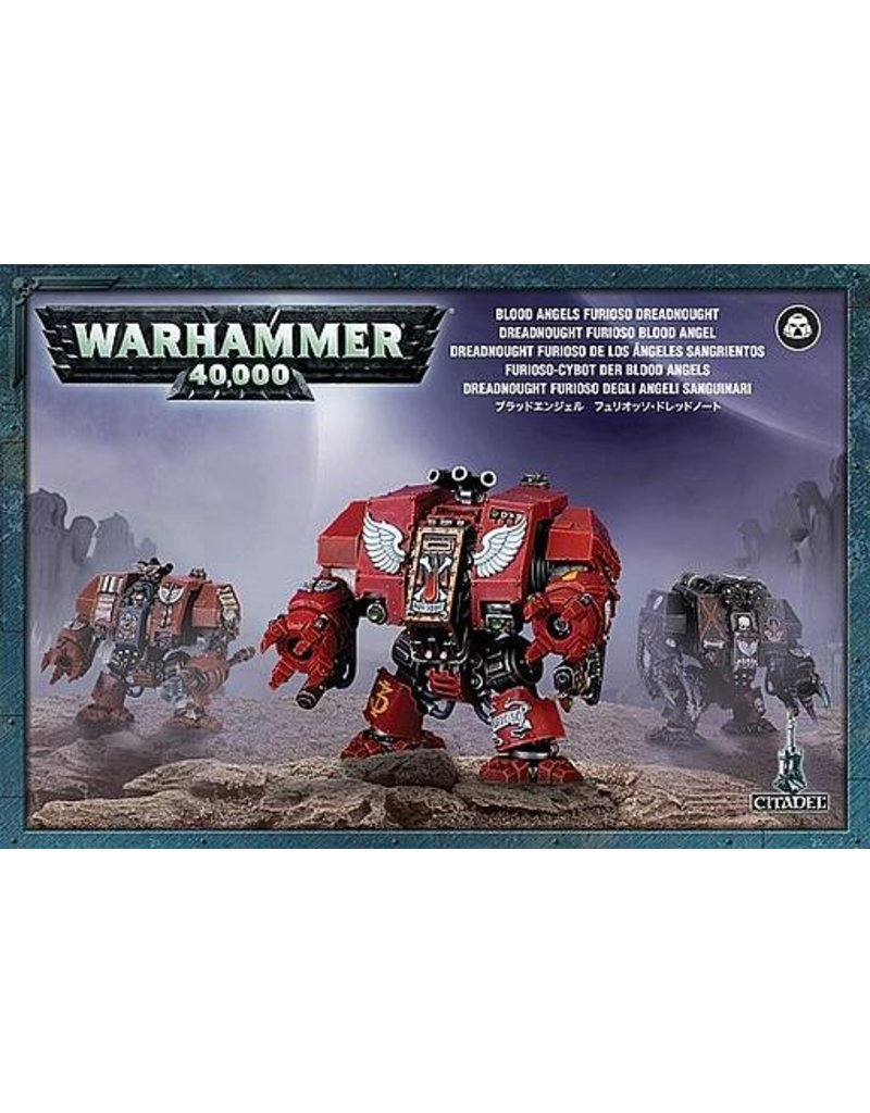 Games Workshop Space Marines Blood Angels Furioso Dreadnought