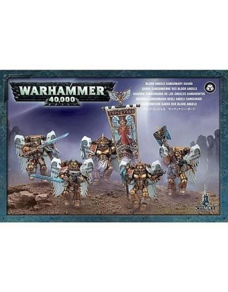 Games Workshop Space Marines Blood Angels Sanguinary Guard