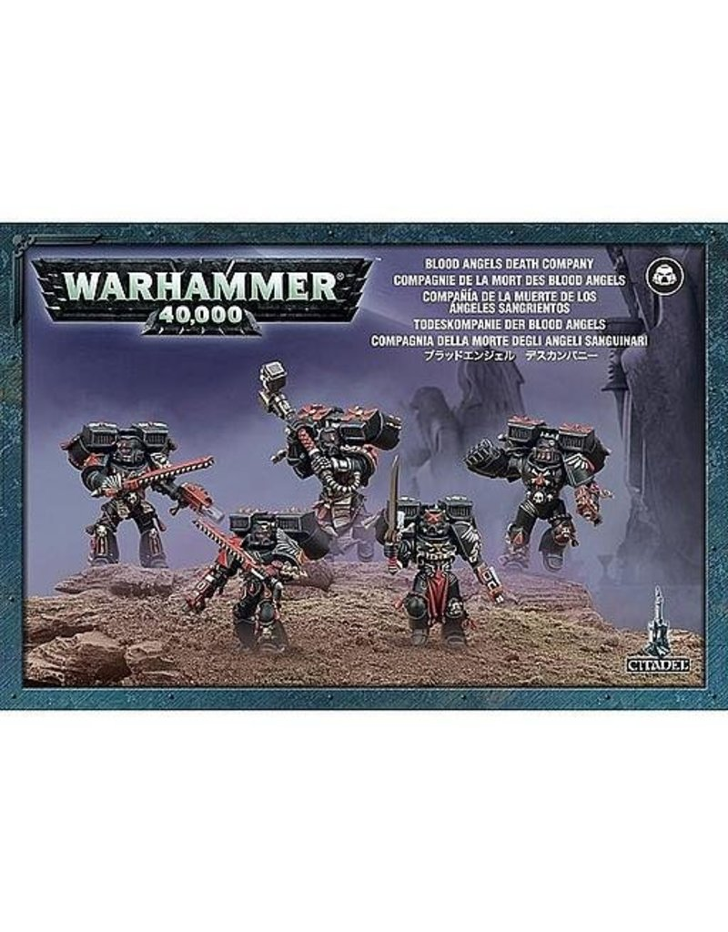 Games Workshop Space Marines Blood Angels Death Company