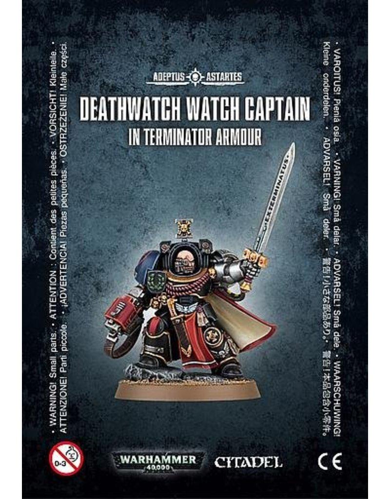 Games Workshop Space Marines Deathwatch Watch Capt./TERMINATOR Armour