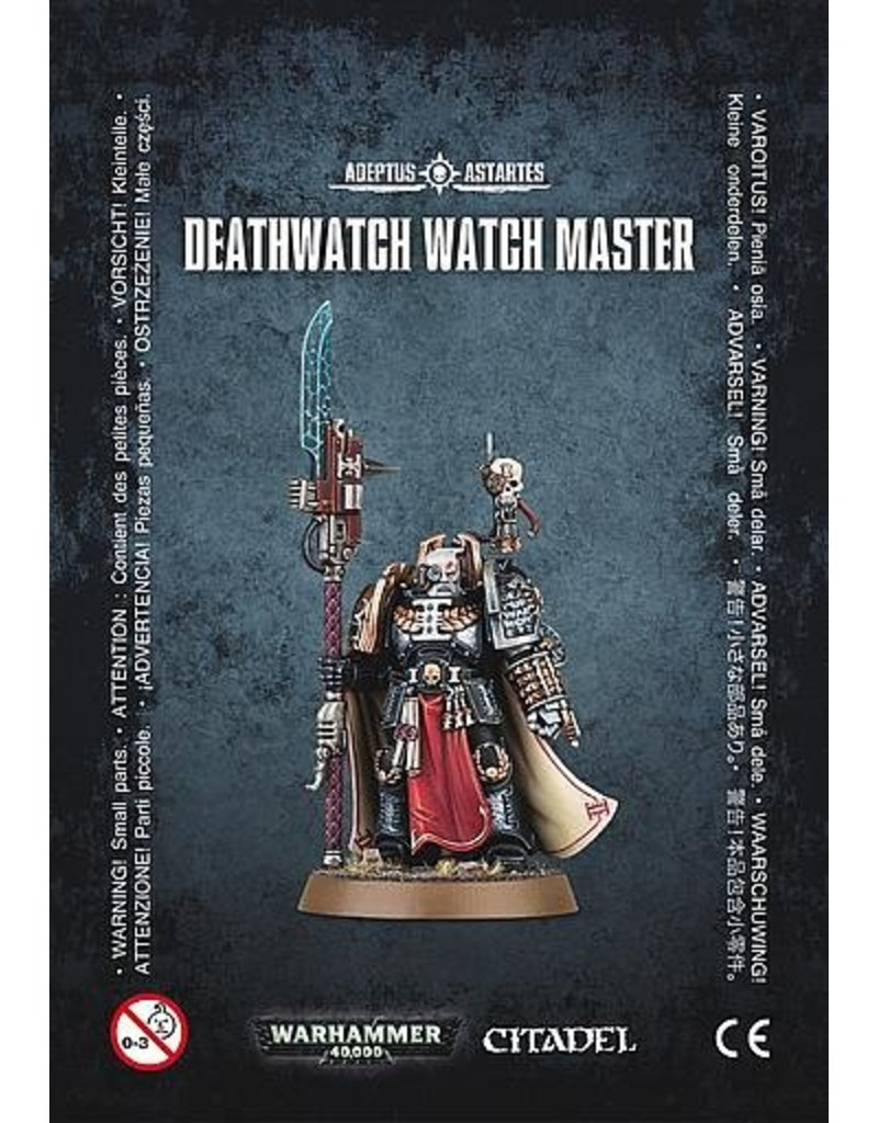 Games Workshop Space Marines Deathwatch Watch Master