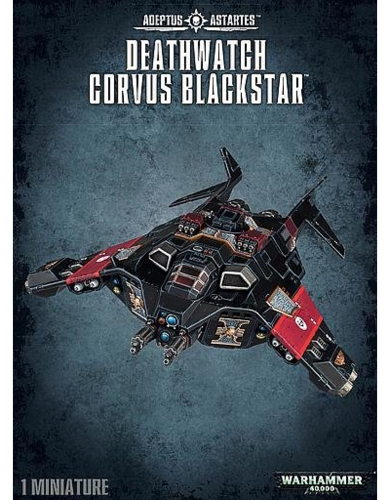 Games Workshop Space Marines Deathwatch Corvus Blackstar
