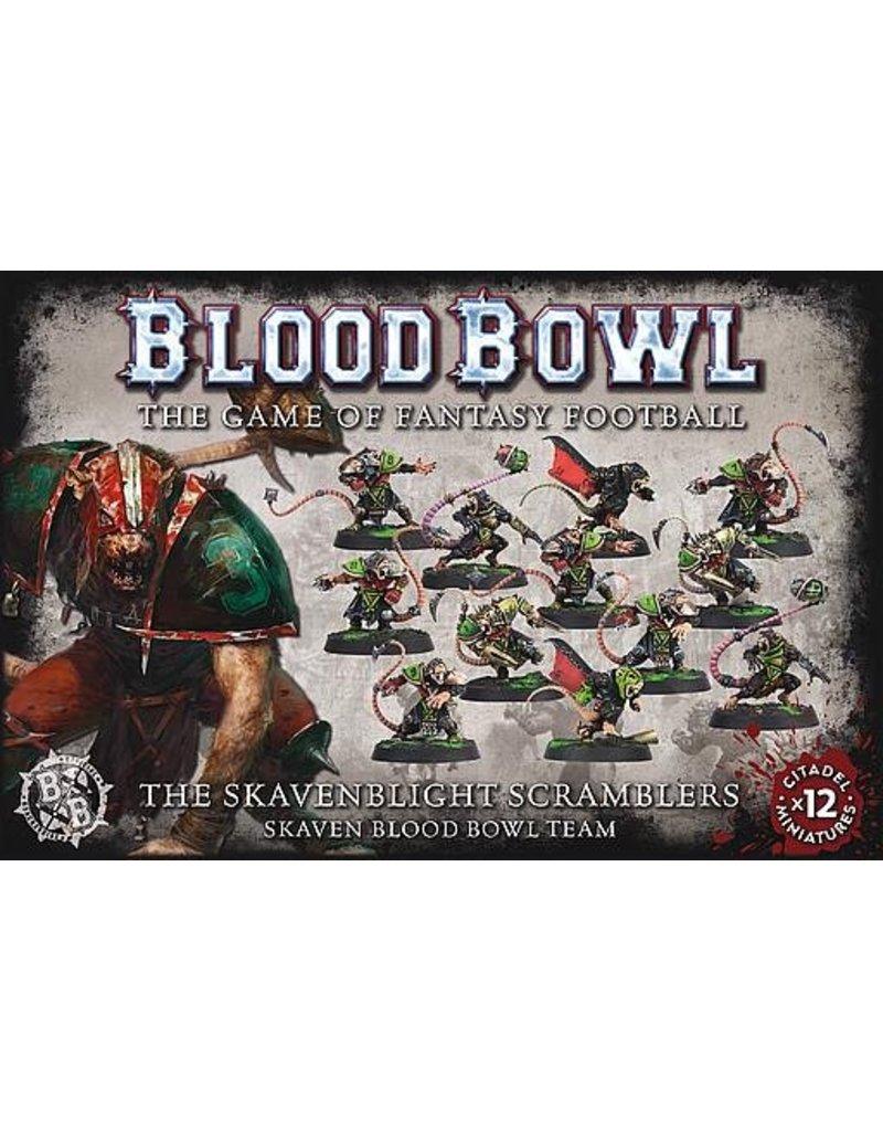 Games Workshop Blood Bowl Skaven Team:  Scramblers