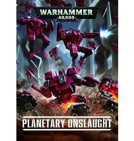 Games Workshop WH40K:  PLANETARY ONSLAUGHT (HB) (EN)
