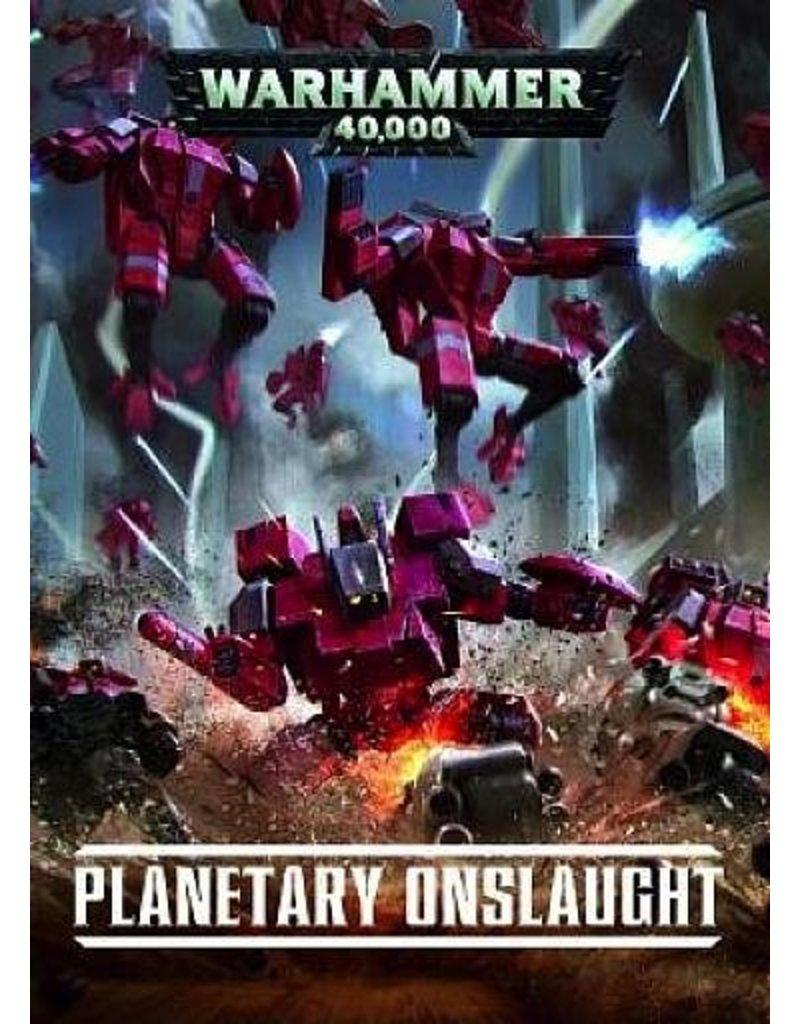 Games Workshop Warhammer 40k Planetary Onslaught (HB) (EN)