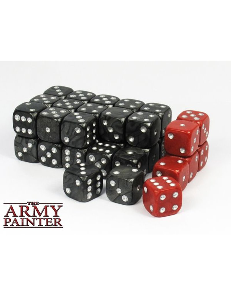 The Army Painter Wargamer Dice - Black – 14mm