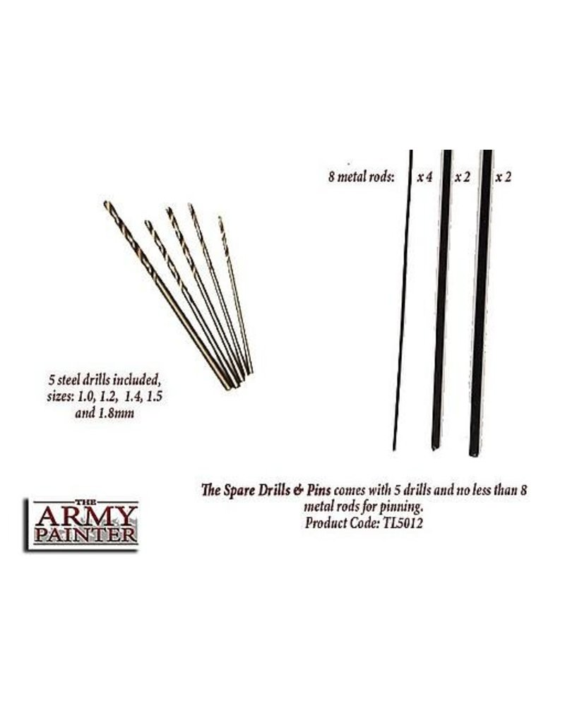 The Army Painter Tool- Spare Drills and Pins