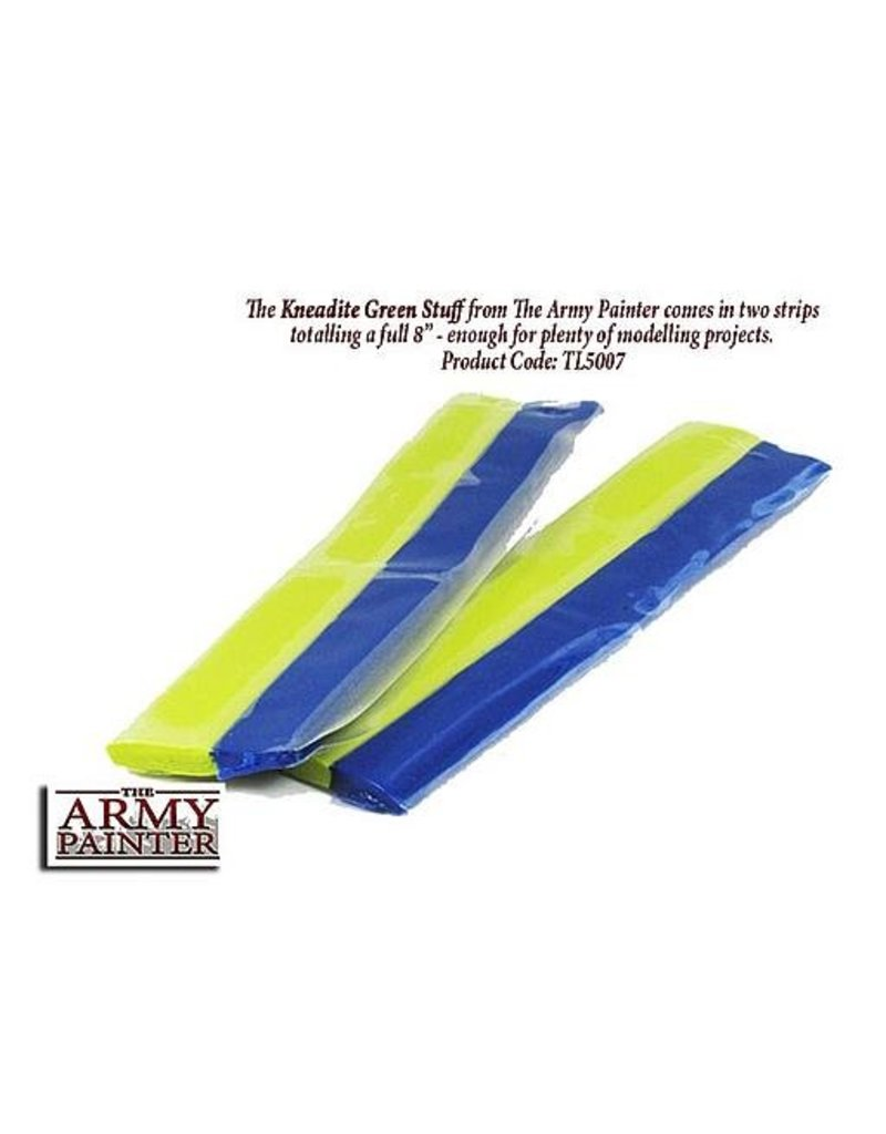 The Army Painter Tool - Kneadite Green Stuff - 8""