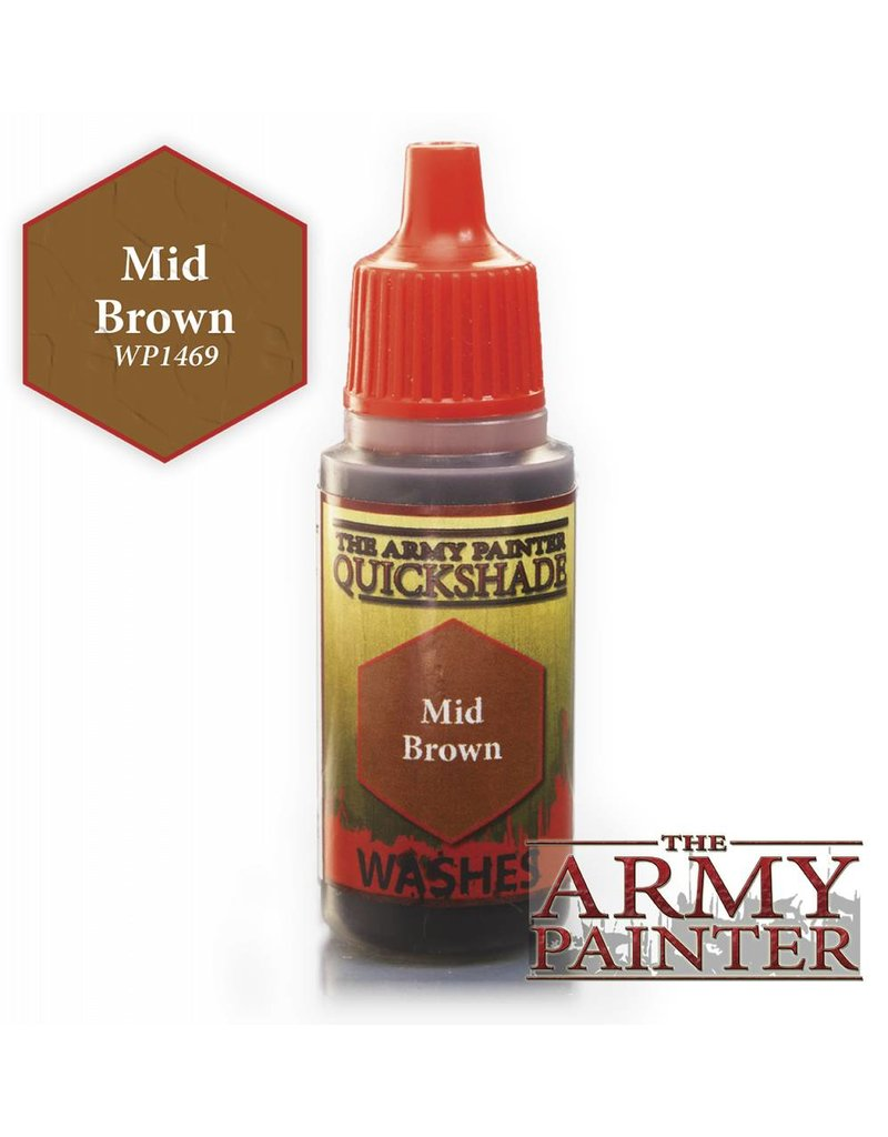 The Army Painter Warpaint - Mid Brown  - 18ml