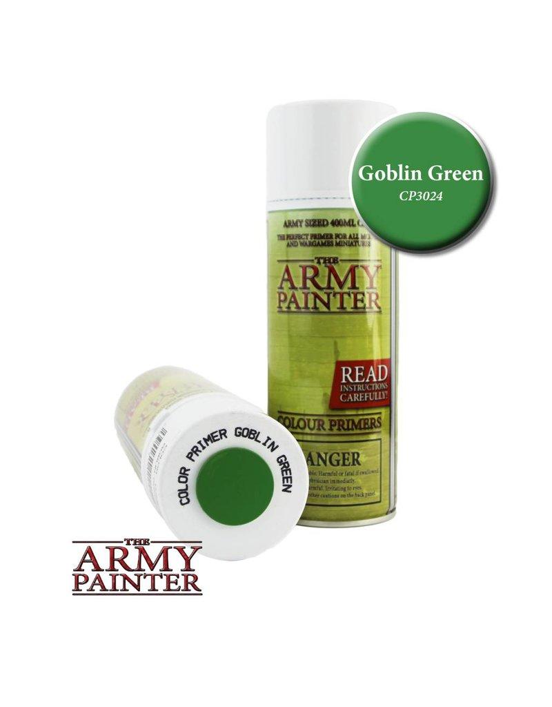 The Army Painter Colour Primer - Goblin Green – 400ml